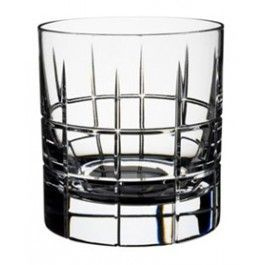 ORREFORS CRYSTAL Whiskey glas STREET Old Fashioned set 2 stuks